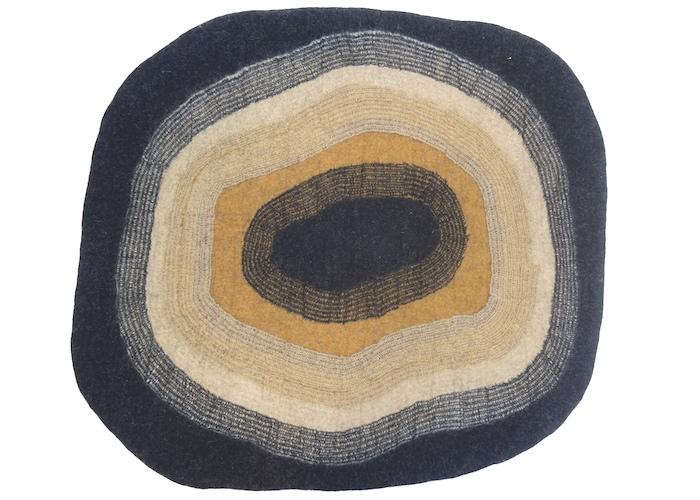 tapis-feutre-ocre-noir