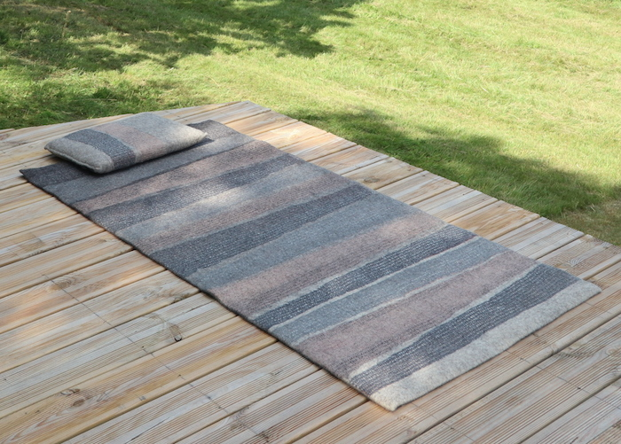 tapis de yoga ou méditation